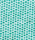 Keepsake Calico Cotton Fabric 43\u0022-Turquoise Shaded Dot