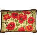 RIOLIS 23.5\u0027\u0027x15.75\u0027\u0027 Cushion Counted Cross Stitch Kit-Oriental Motifs