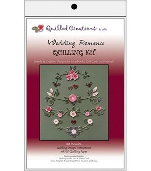 Quilled Creations Quilling Kits-Wedding Romance