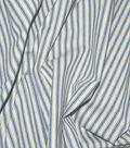 Waverly Multi-Purpose Decor Fabric 55\u0022-Classic Ticking Vintage Ink