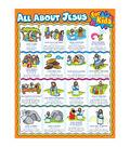 Carson-Dellosa All about Jesus for Kids Chart 6pk