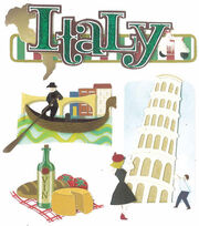 Jolee's Boutique Dimensional Sticker-Italy, , hi-res