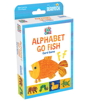 Briarpatch Eric Carle Alphabet Go Fish Card Game