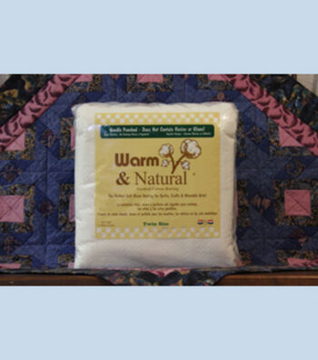 The Warm Company Warm & Natural Twin Cotton Needled Batting