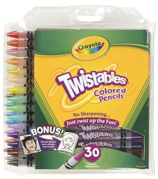 Crayola 30 ct. Twistables Colored Pencils
