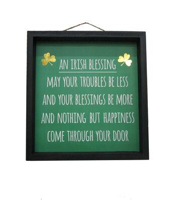 St. Patrick's Day Wall Decor-Irish Blessing