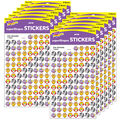 Zoo Animals superShapes Stickers 800 Per Pack, 12 Packs