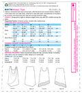 Kwik Sew Pattern K4174 Misses\u0027 Front-Drape/Banded Tank Tops-Size XS-XL