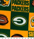 Green Bay Packers Fleece Fabric -Block