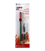 Simply Art Swivel Craft Knife with 10 Blade Refills, , hi-res