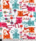 Snuggle Flannel Fabric -Prrr Meow Kitties