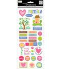 Me & My Big Ideas-Ellen Family Chipboard Sticker
