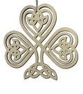 St. Patrick\u0027s Day Craft Unfinished Wood Celtic Shamrock