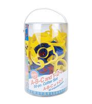 Wilton Plastic Cookie Cutters-ABC & 123, , hi-res
