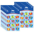 Carson Dellosa Butterflies Shape Stickers 12 Packs