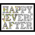 Design Works Zenbroidery Stamped Picture Kit-Happy Ever After