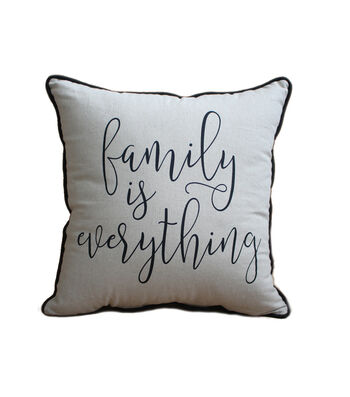 Hudson 43 Farm 18''x18'' Print Pillow-Family Is Everything