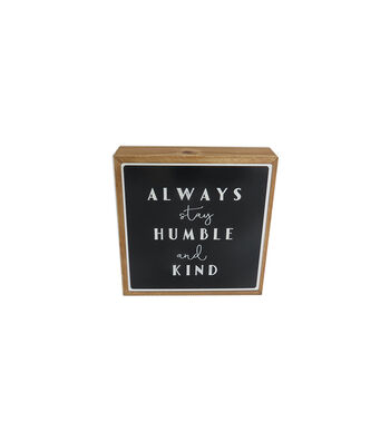 Simply Spring Wall Decor-Always Stay Humble & Kind