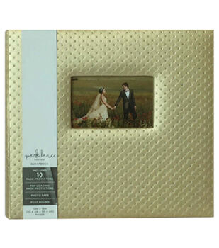 Park Lane 12''x12'' Scrapbook Album-Pearl