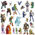 York Wallcoverings Peel & Stick Wall Decals-Zelda Ocarina of Time 3D
