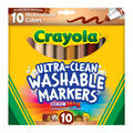 Crayola Ultra-Clean Color Max Broad Line Washable Markers-Multicultural