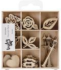 Themed Mini Wooden Flourishes-Garden