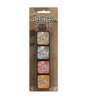 Tim Holtz Distress Mini Ink Pads 4/Pkg-Kit 7, , hi-res
