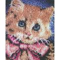 Wonderart Latch Hook Kit 15\u0022X20\u0022-Prize Kitty