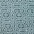 Asian Inspired Premium Cotton Print Fabric -Teal Starburst