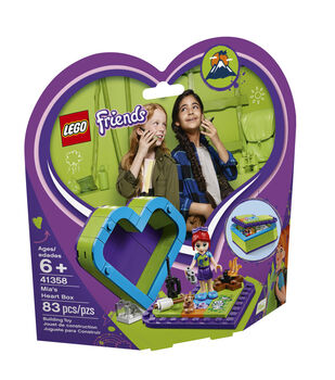 LEGO Friends Mia's Heart Box 41358