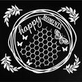 49 and Market Laser Cut Shapes Archival Board-Happy Moments White