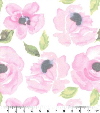 Nursery Cotton Fabric-Hazel Watercolor Floral