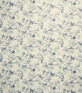 Home Decor 8\u0022x8\u0022 Fabric Swatch-French General Balsamic Indigo