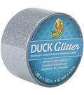 Glitter Tape Silver Sparkle