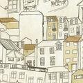Genevieve Gorder Upholstery Fabric 54\u0027\u0027-Resin Glow City Streets