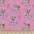 Nightmare Before Christmas Coton Fabric-Together With Zero