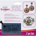 Sculpey Silicone Bakeable Mold with Squeegee-Mandala