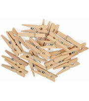 "Tiny Pegs 20/Pkg-Clothes Pins 1.25""X.25""X.25"", , hi-res"