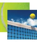 Tennis Double-Sided Cardstock 12\u0022X12\u0022-Ace