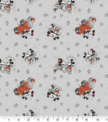 "Disney Mickey & Minnie Cotton Fabric 43""-Married Life"