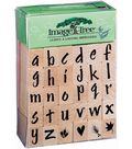 Image Tree Rubber Stamp Sets-Susy Ratto Brush Lower Alpha