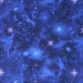 Performance Knit Fabric-Blue Galaxy