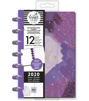 The Happy Planner Girl Deluxe Mini 2020 Dated Planner-Stargazer