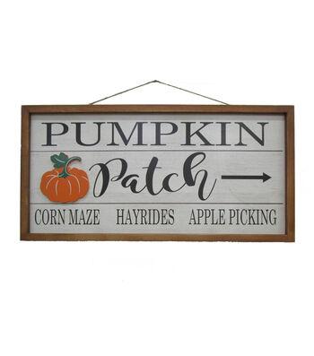 Simply Autumn Pumpkin Patch FraMedium Wall Decor