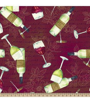 "Anti-Pill Fleece Fabric 59""-Sommeliers Sampling"