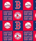 Boston Red Sox Fleece Fabric 58\u0027\u0027-Block