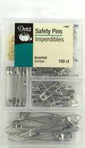 Safety Pins-100/Pkg