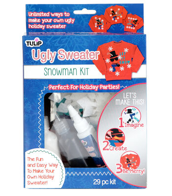 Tulip Ugly Sweater Snowman Kit