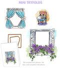 Garden Wnd-mini Try\u0027folds Stamp