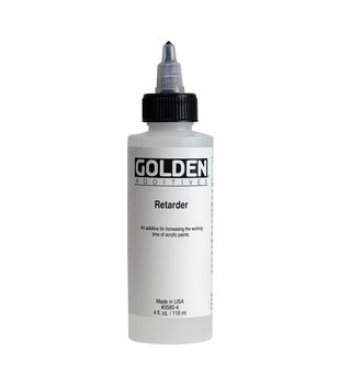Golden Artist Colors Additives 4 fl. oz. Acrylic Paint Retarder